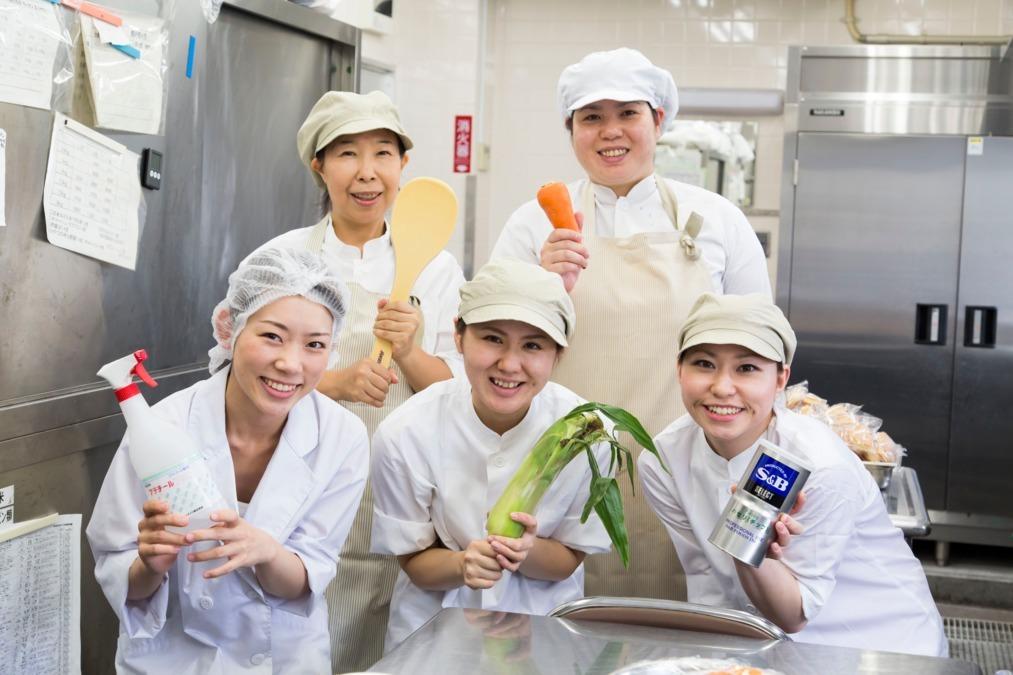 株式会社LEOC ホスピタルメント芦屋内の厨房の画像