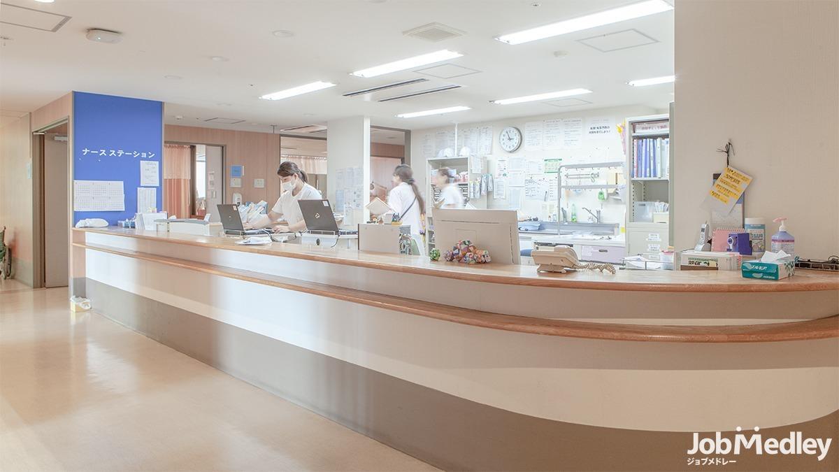 中村病院(医療事務/受付の求人)の写真2枚目:院内の様子です