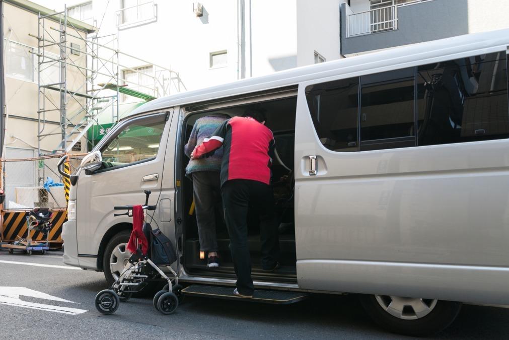 クローバーデイサービス習志野(介護タクシー/ドライバーの求人)の写真1枚目: