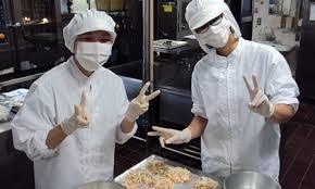 名阪食品株式会社 きたの旭ヶ丘学園内の厨房の画像