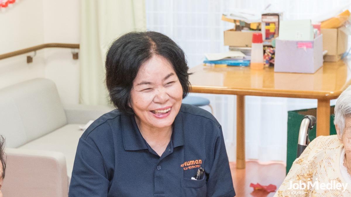 ヒューマンライフケア多摩の宿【小規模多機能型居宅介護】(ケアマネジャーの求人)の写真:「その人らしさ」にそっと寄り添うヒューマンライフケアでのお仕事です