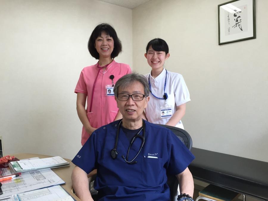 訪問マッサージあるえ(あん摩マッサージ指圧師の求人)の写真2枚目:医療法人と連携しています。何かあったときは、安心のバックアップ体制です。