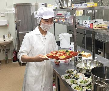 杉並井荻雲母保育園(管理栄養士/栄養士の求人)の写真1枚目:管理栄養士が園オリジナルの献立でこだわりの食事・おやつを作ります★
