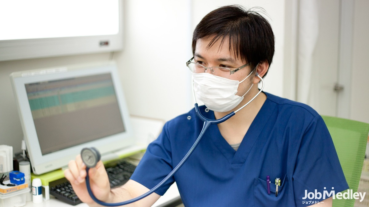やよい台 内科・皮フ科(医療事務/受付の求人)の写真1枚目:クリニック内から訪問まで幅広い業務を経験できます
