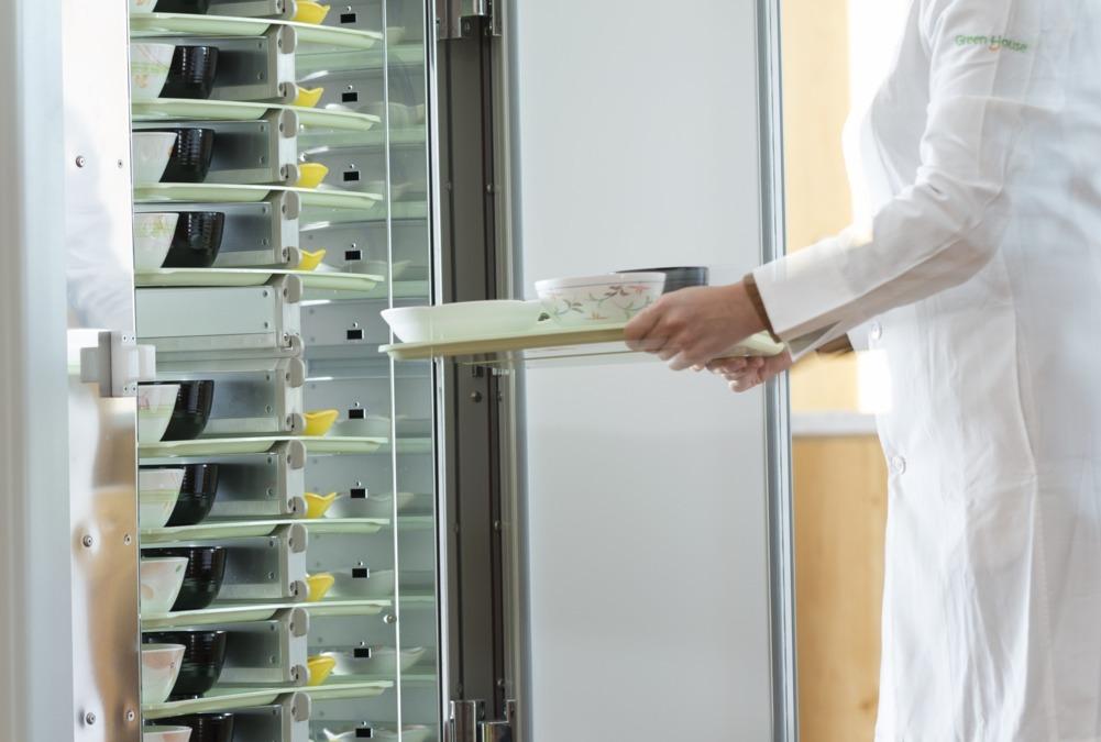 グリーンホスピタリティフードマネジメント株式会社 特別養護老人ホームハピータウン内の厨房の画像
