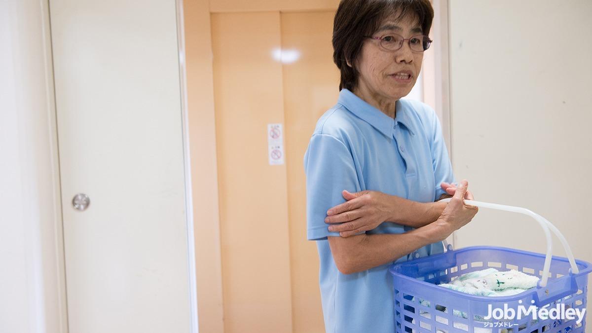 エルダーホーム松戸の写真2枚目:食事補助や研修制度など働きやすい待遇を整えています