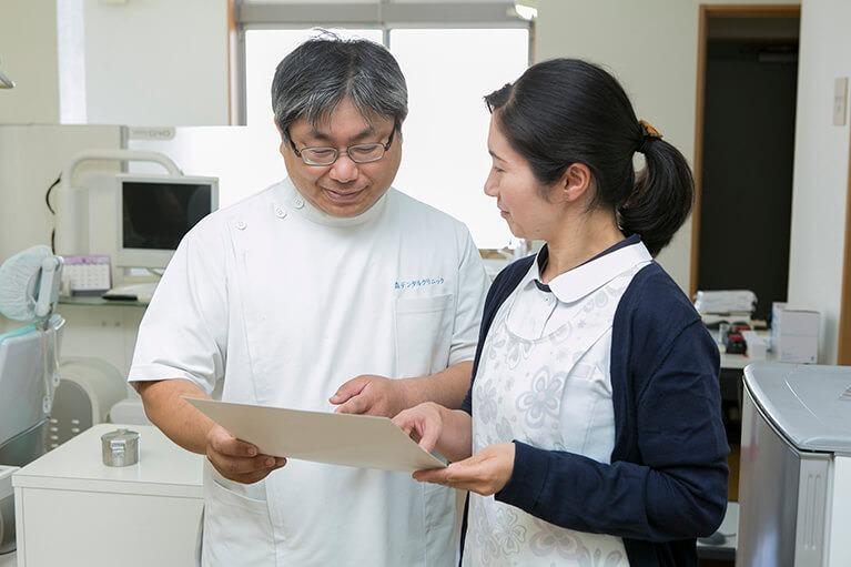 森デンタルクリニックの写真1枚目:医師とスタッフが連携を取りながら治療にあたっています