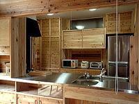 グループホーム夢楽の園(介護職/ヘルパーの求人)の写真3枚目:対面式キッチンがあり皆でお料理も楽しめます