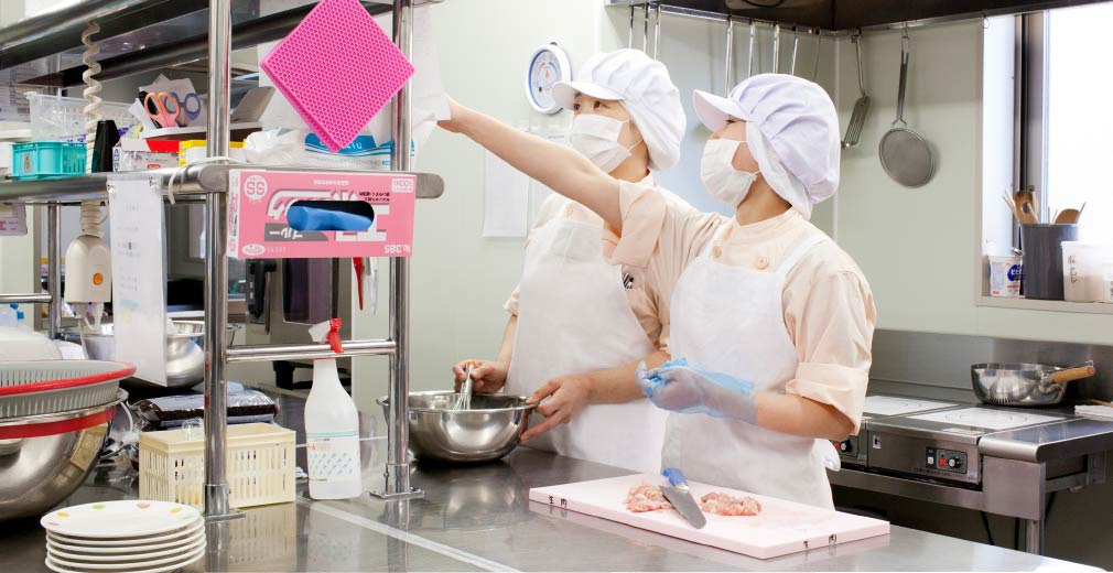 株式会社秋田キャッスルホテル 特別養護老人ホーム大平荘内の厨房の画像