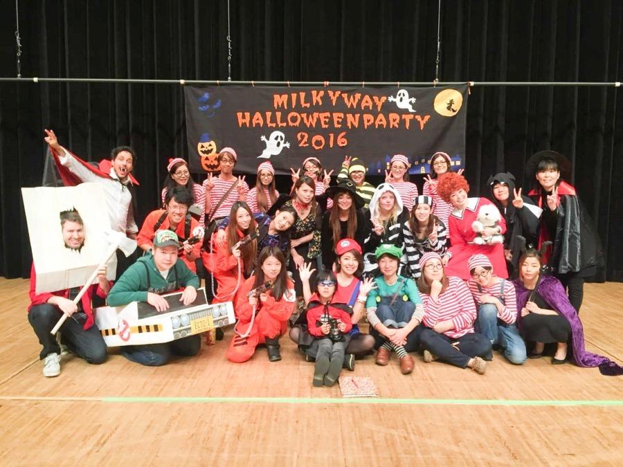 MilkyWay International School 本八幡本校(保育士の求人)の写真3枚目:多彩なイベントが盛りだくさん!スタッフみんな全力で『仕事』を楽しんでます♪
