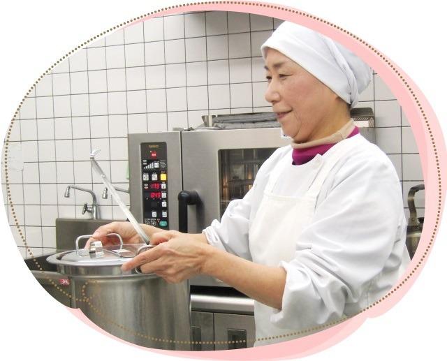 石本商事株式会社 特別養護老人ホーム白根そよ風の杜内の厨房の画像