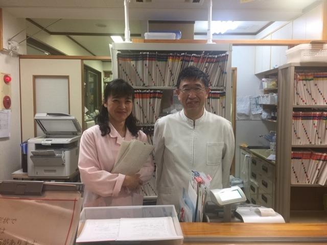医療法人社団大塚耳鼻咽喉科医院(医療事務/受付の求人)の写真:院長と妻(薬剤師)