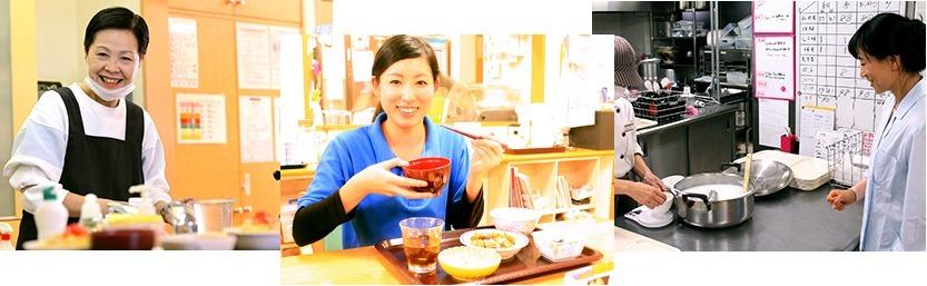 グリーンフード株式会社 愛の家グループホーム草加谷塚内の厨房の画像