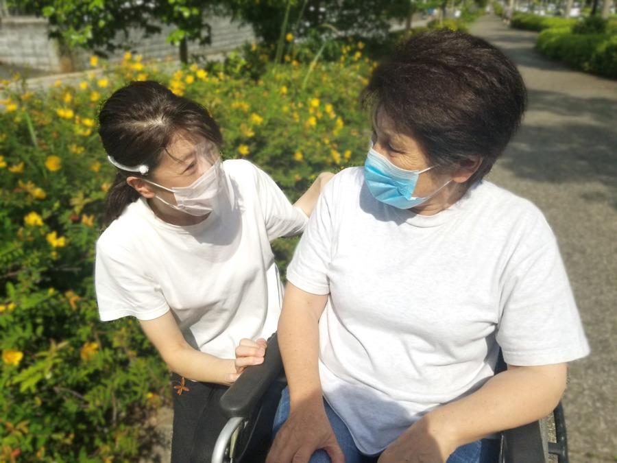 Hanaヘルパーステーションおゆみ野(サービス提供責任者の求人)の写真:新型コロナ感染症の予防対策を徹底しています。