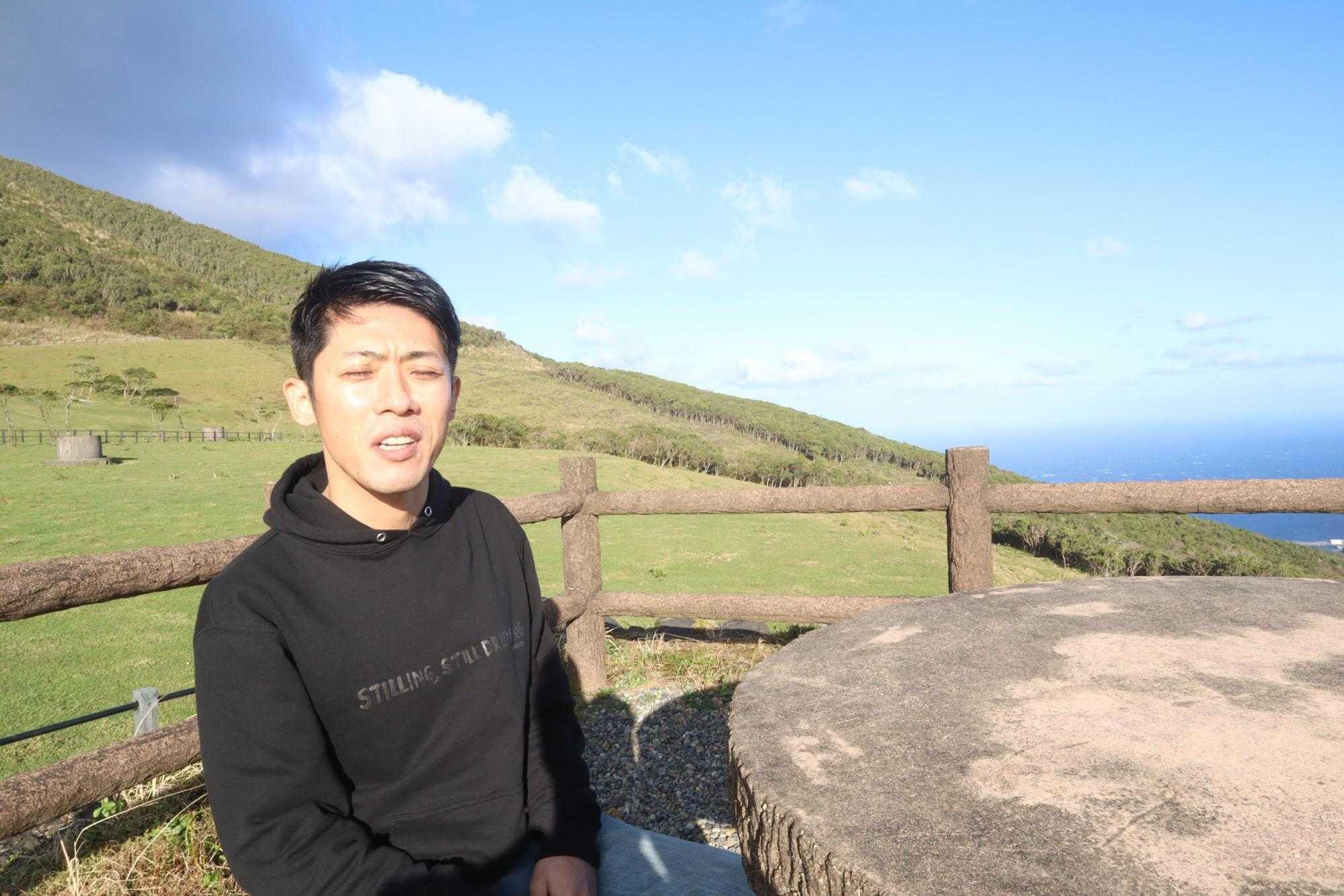 八丈島で働くスタッフ:姫崎さん2