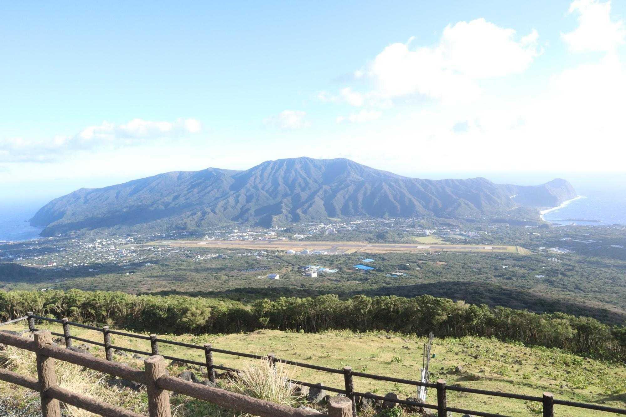八丈富士からの眺望