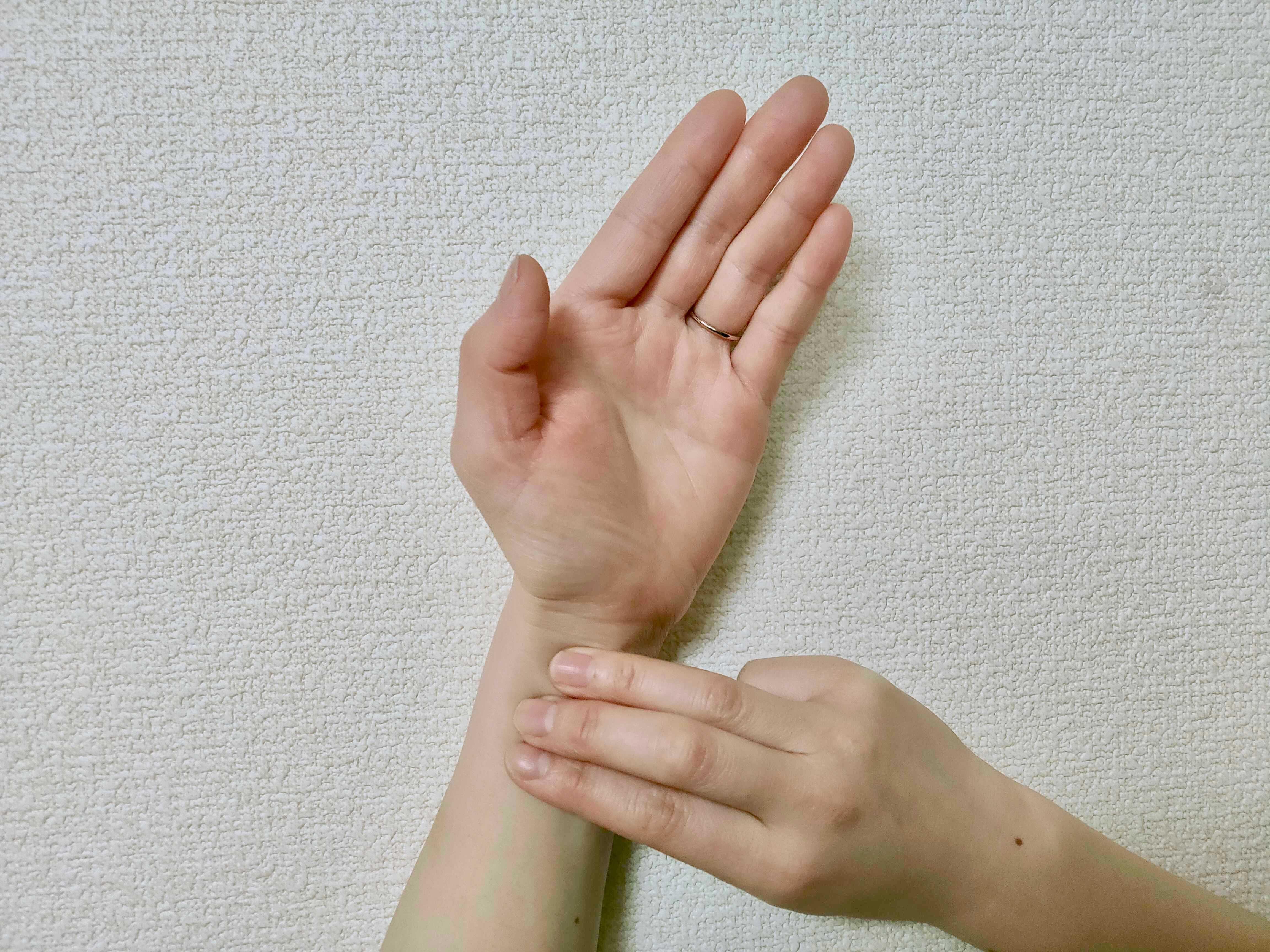 脈拍の測り方