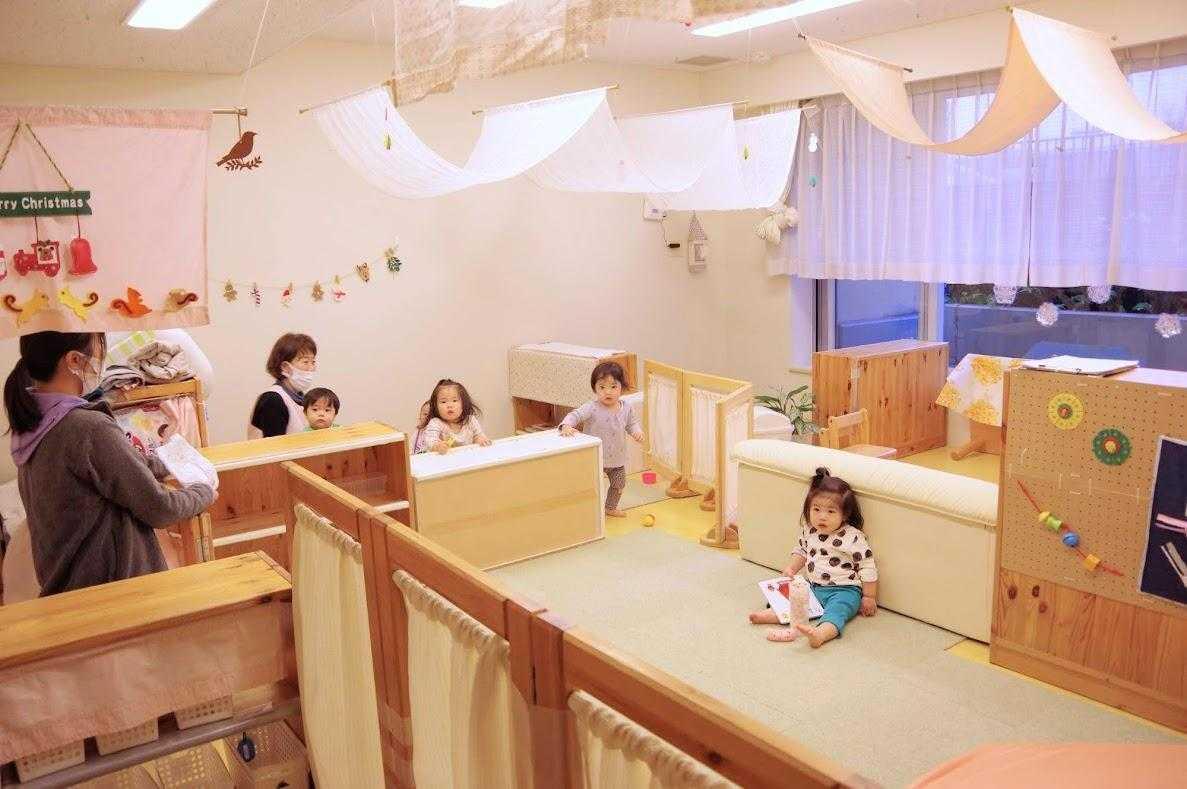 ベネッセ 武蔵小杉保育園の乳児クラス