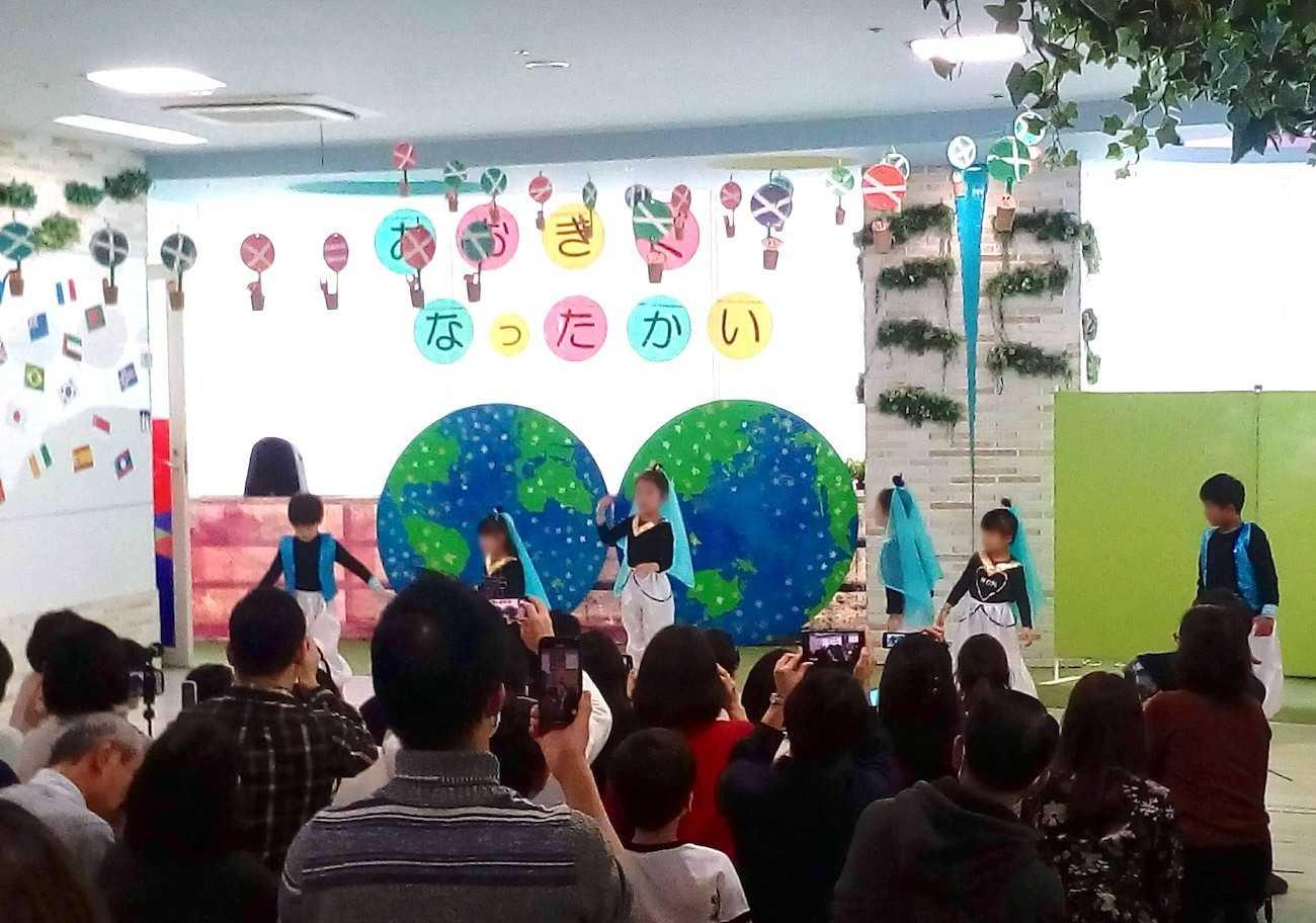 花房山目黒駅前保育園333 ミュージカル劇発表の様子