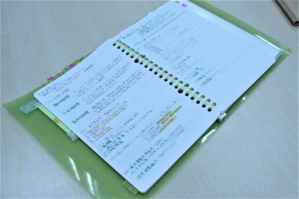 介護福祉士勉強ノート