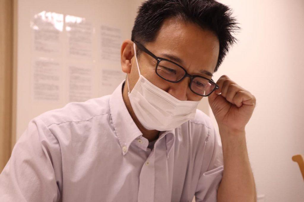学研ココファン日吉7丁目 所長 奥山さん インタビューの様子