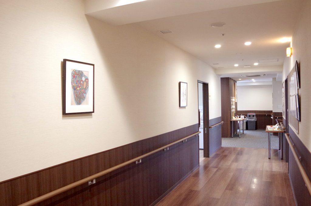 イリーゼ西国分寺 ホームの廊下