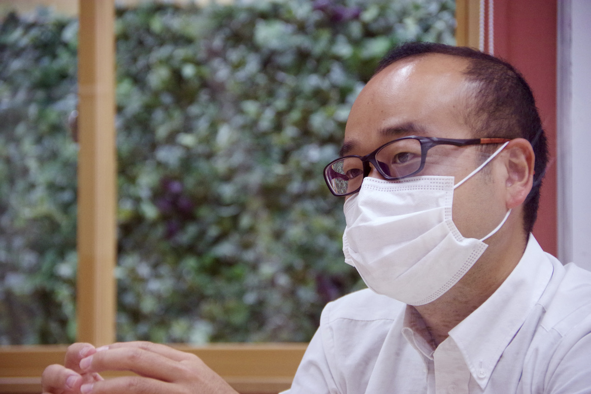 ほねごり代表阿部さん インタビューカット