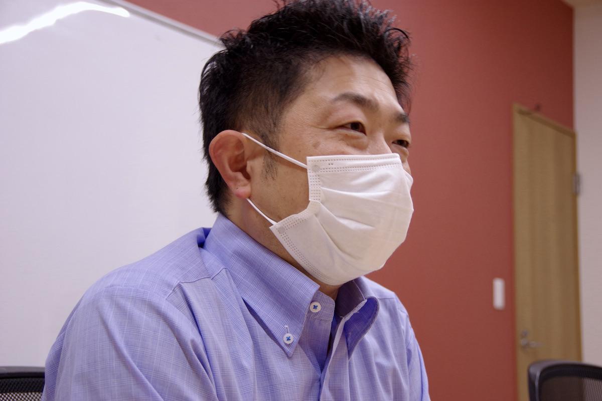 ほねごり人事課長前田さん インタビューカット